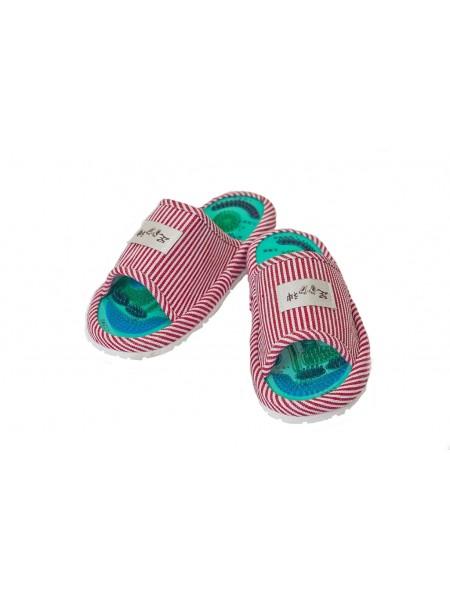 """Массажные тапочки с магнитами Health Feet """"Розовые"""""""