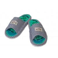 """Массажные тапочки с магнитами Health Feet """"Синие"""""""