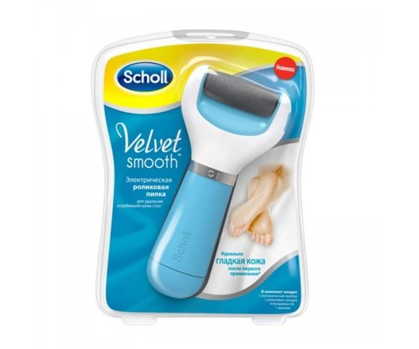 Электрическая роликовая пилка Scholl Velvet Smooth для удаления огрубевшей кожи стоп