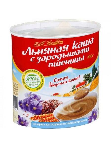 Каша льняная с зародышами пшеницы VIP Продукт (410г)