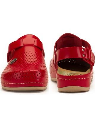 Женские тапочки Сабо | 951 (Красные)