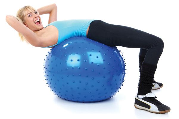 Мяч для фитнеса - фитбол для похудения